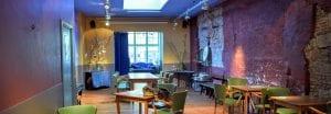 De borrelzaal van de vestiging in de Voorstraat