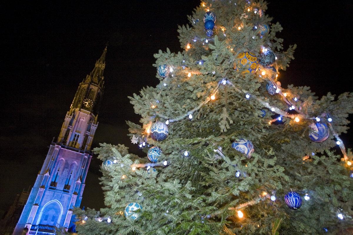 lichtjesavond delft donkere dagen kerstmarkt kerst ontstaan