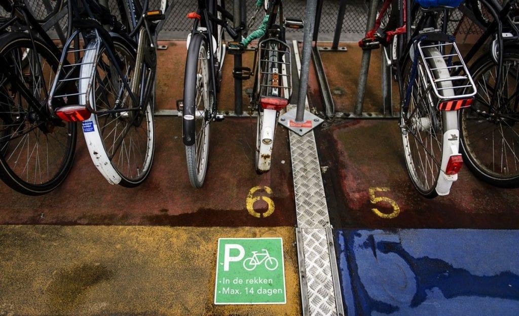 fietsenstalling-anp station