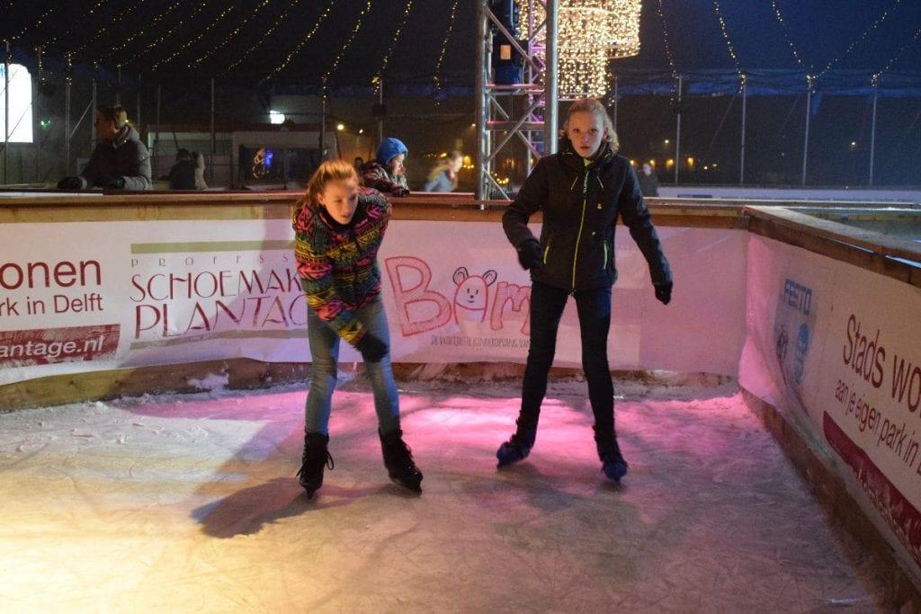 schaatsbaan in delft winters delft