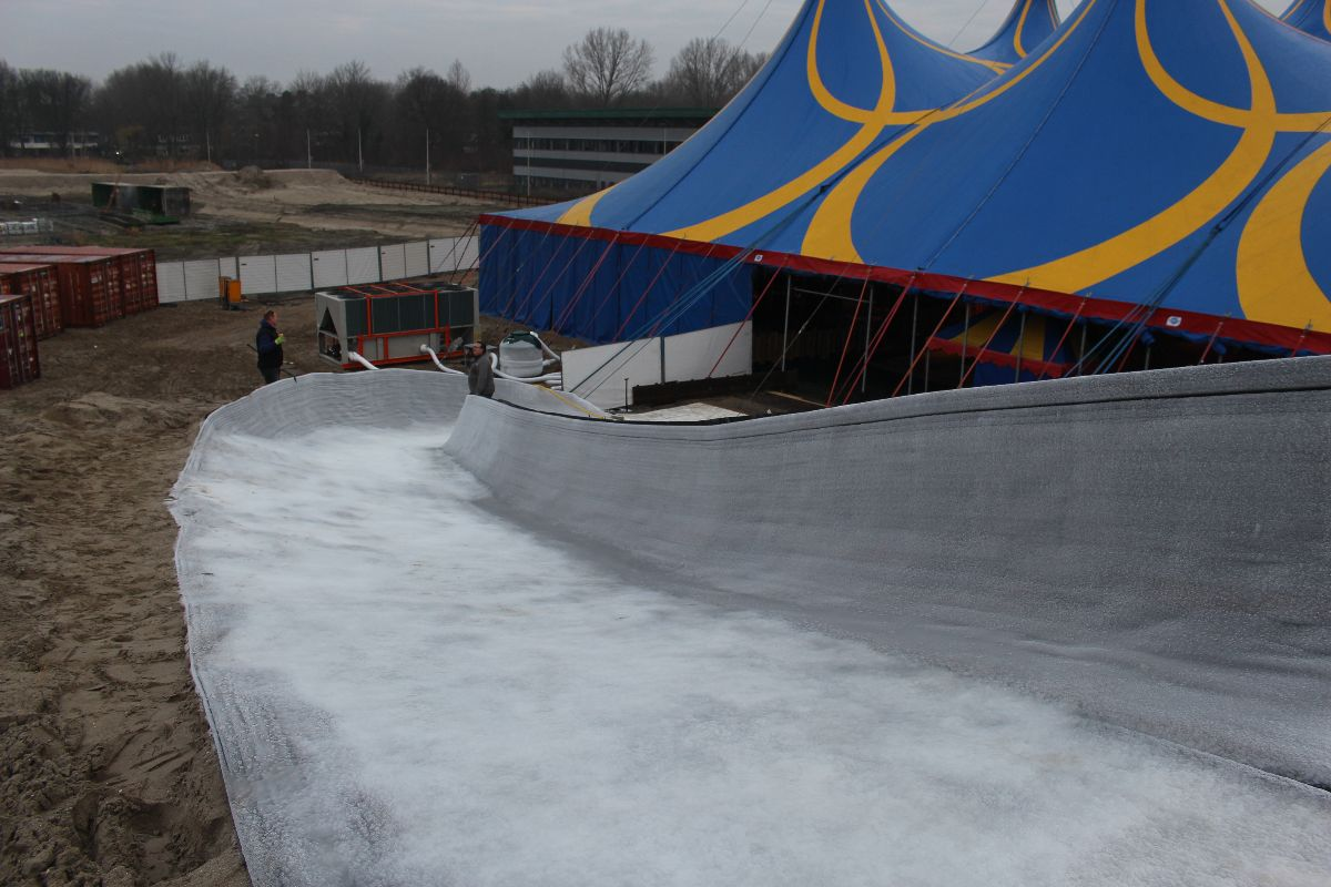 schaatsbaan winters delft