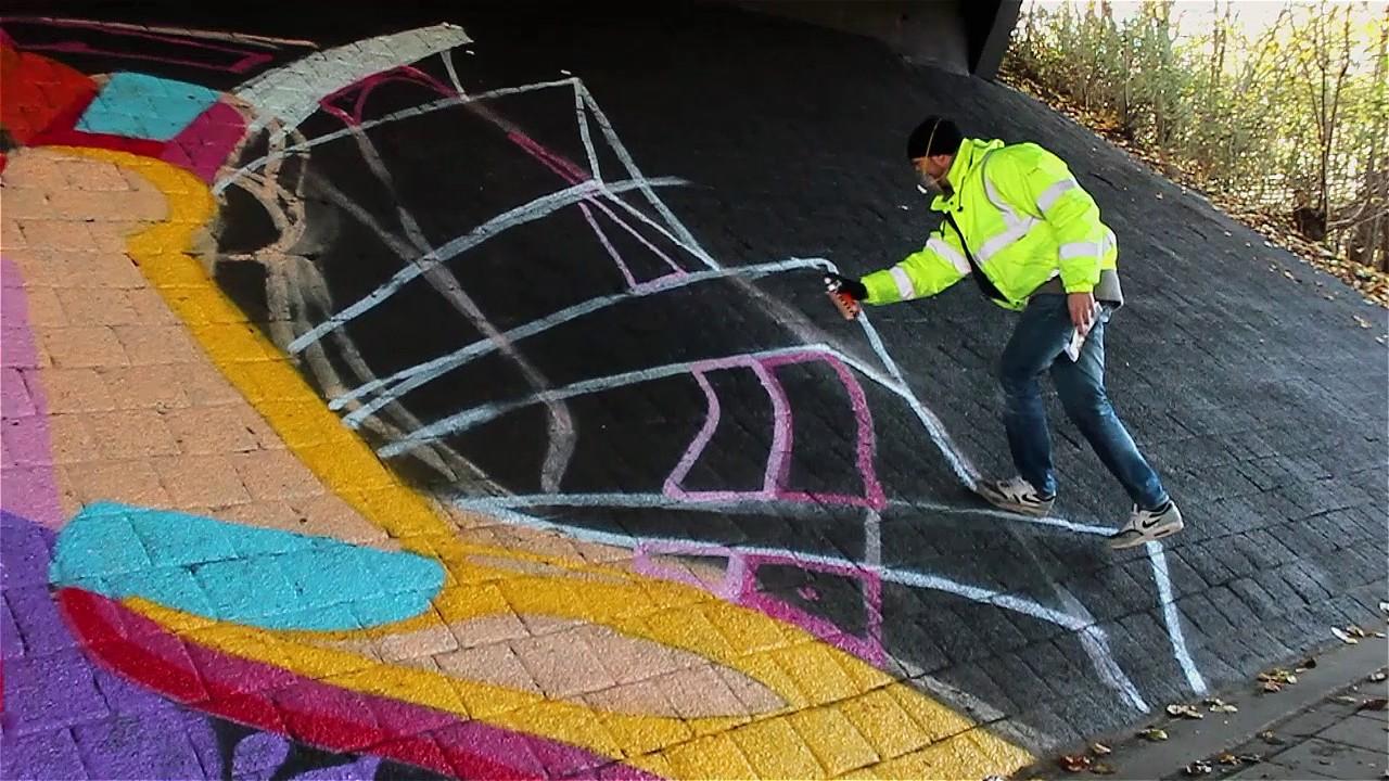street art kruithuisviaduct