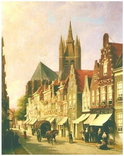choorstraat 1888