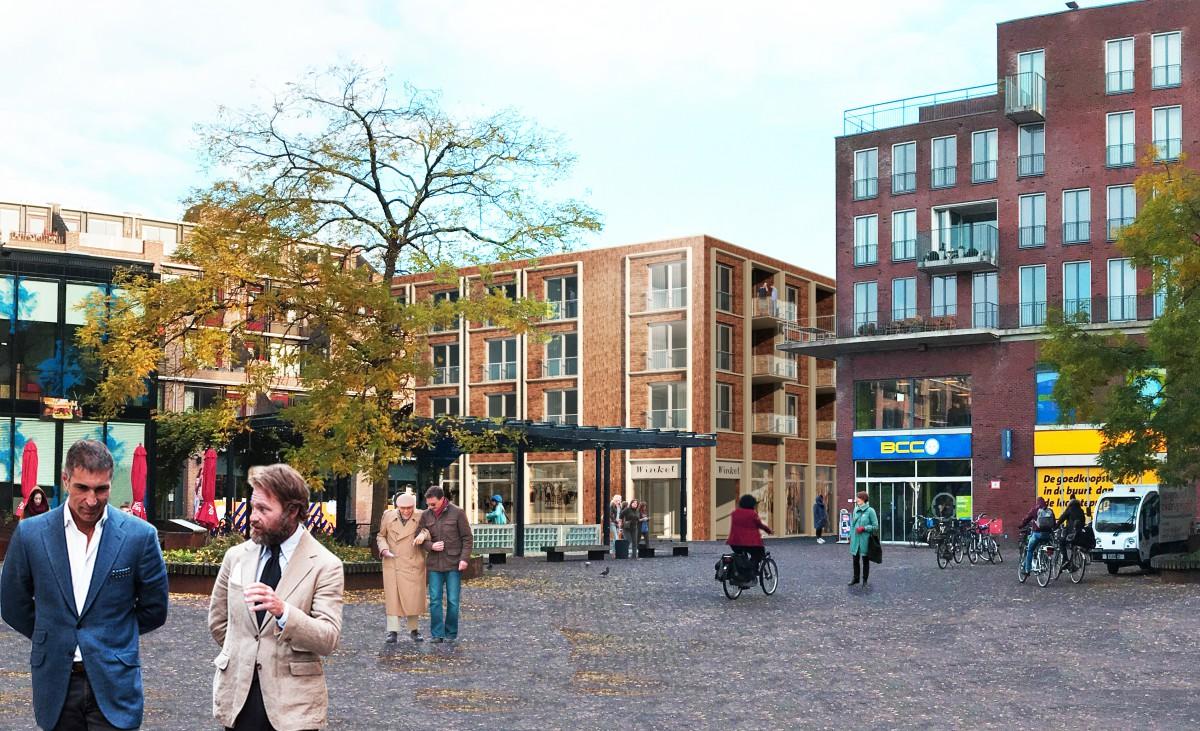 bastiaanplein oude V&D locatie