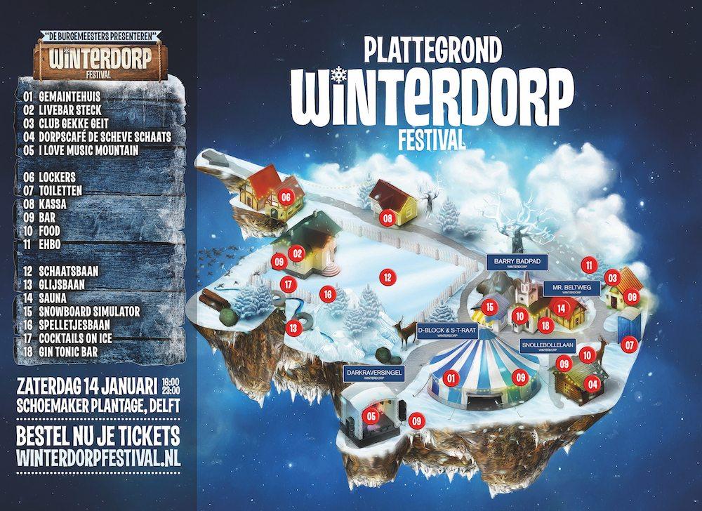 plattegrond winterdorp festival