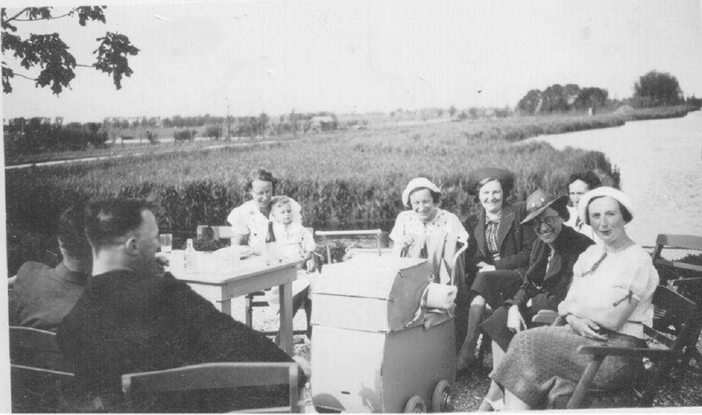 Rieten dak 1936