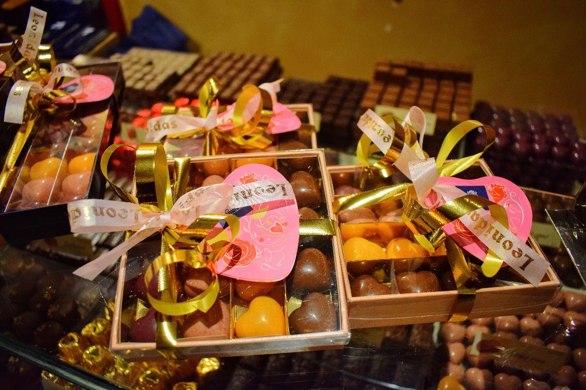 leonidas chocolaterie bonbons