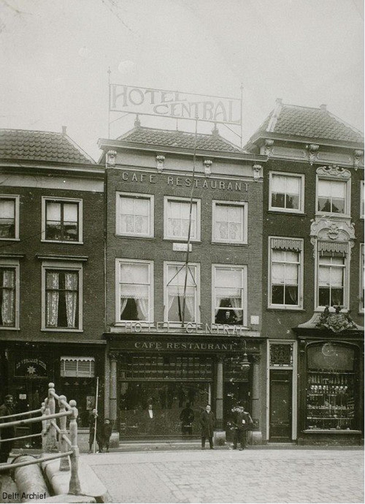 hotel central ca. 1898