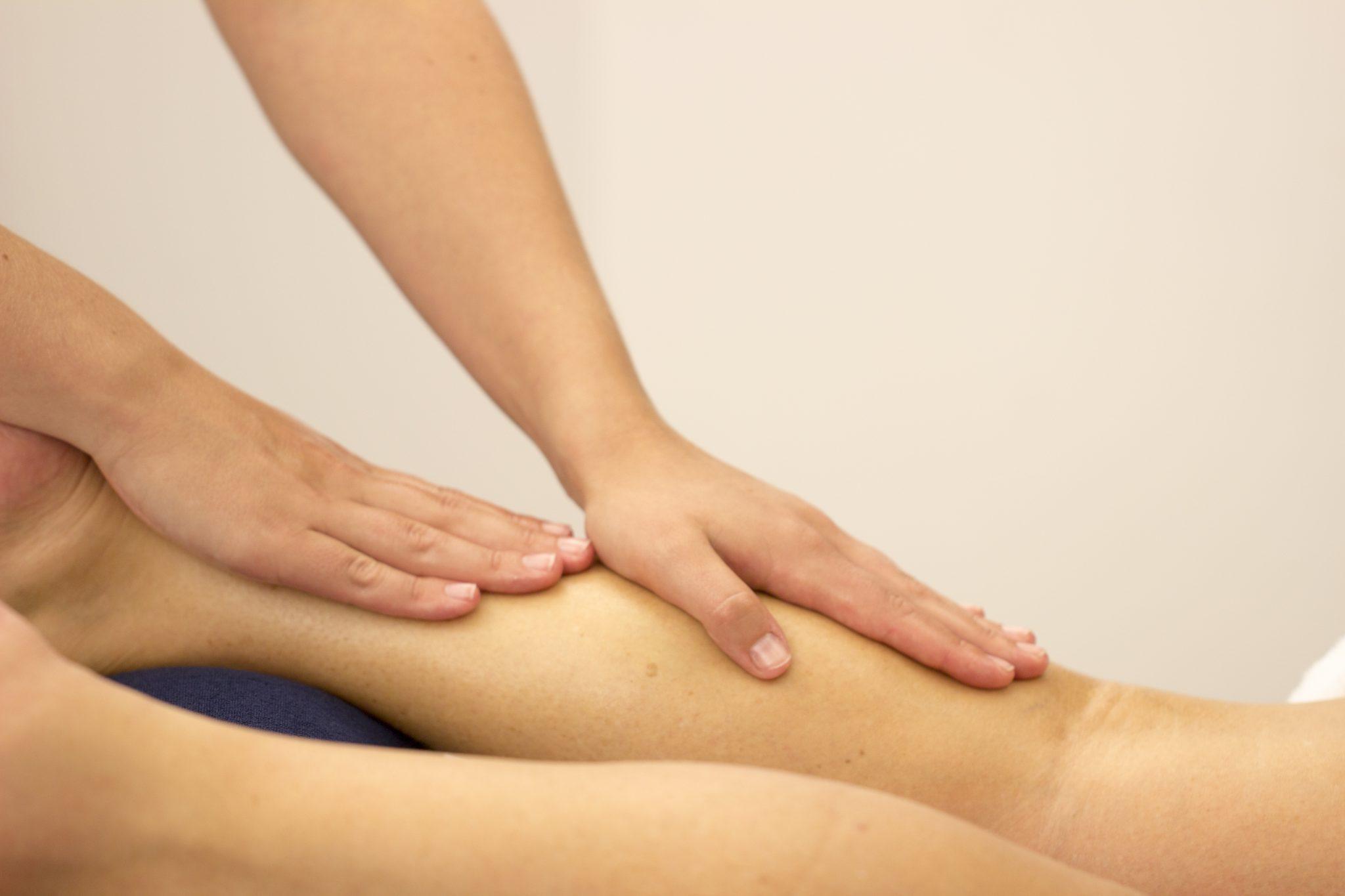 massage stap vooruit