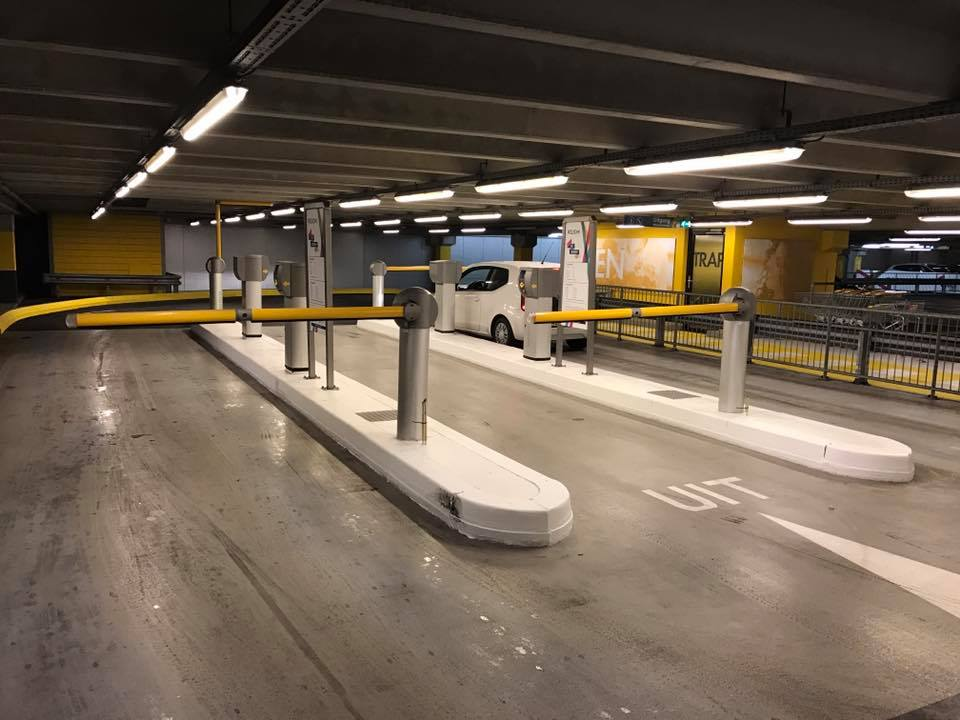 parkeergarage hoven passage gratis parkeren