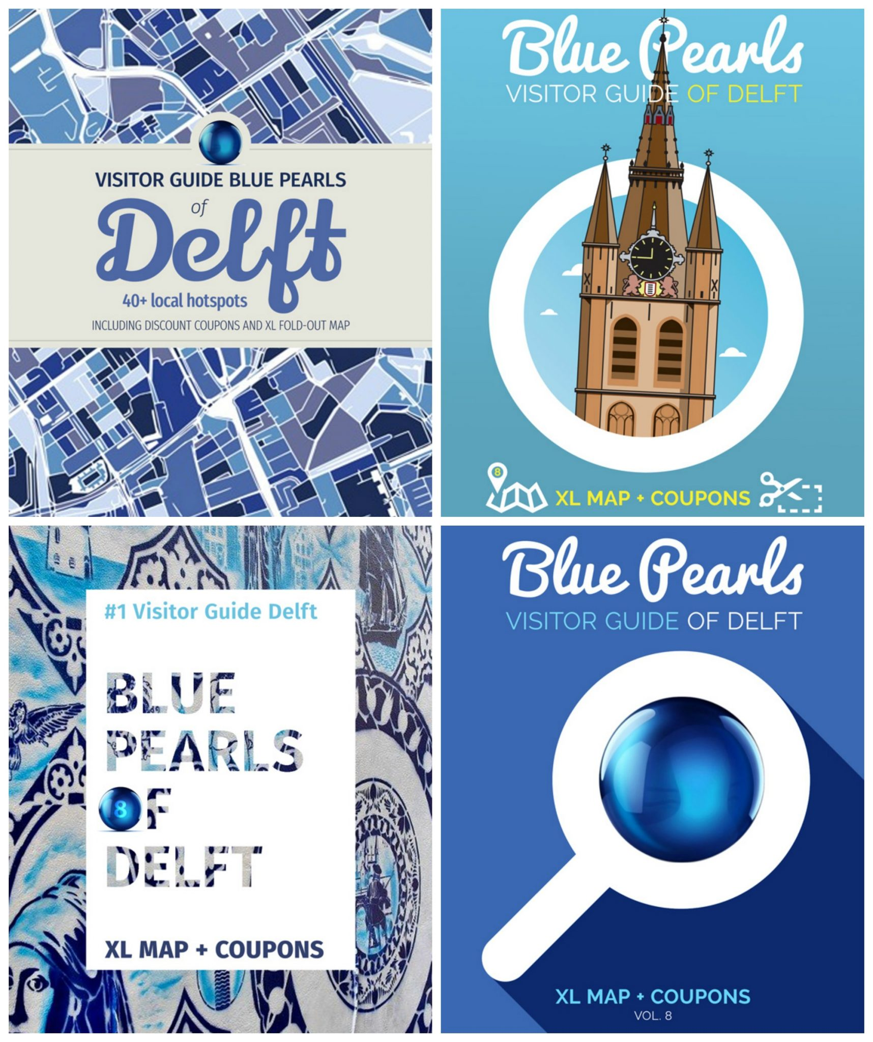 blue pearls of delft covers