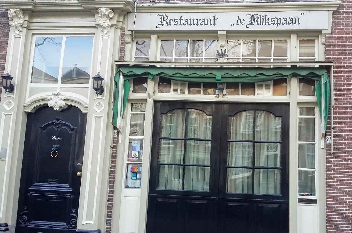 restaurant de klikspaan delft