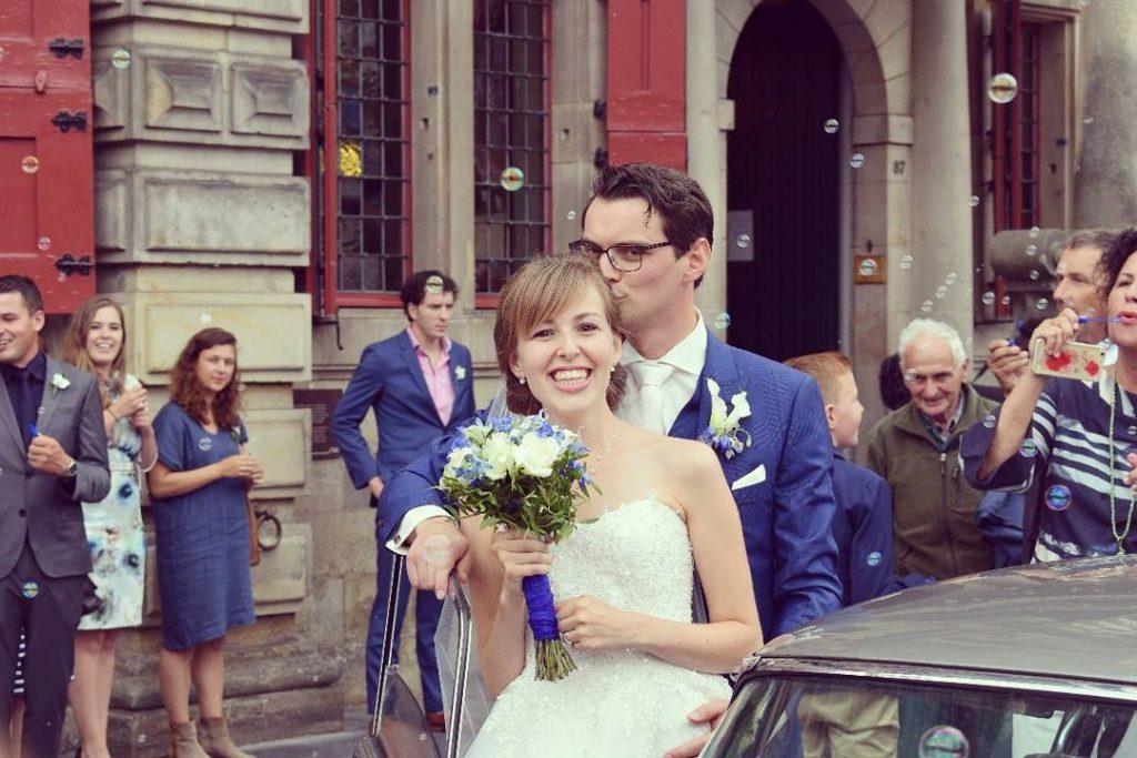 zoenen in delft gratis trouwen