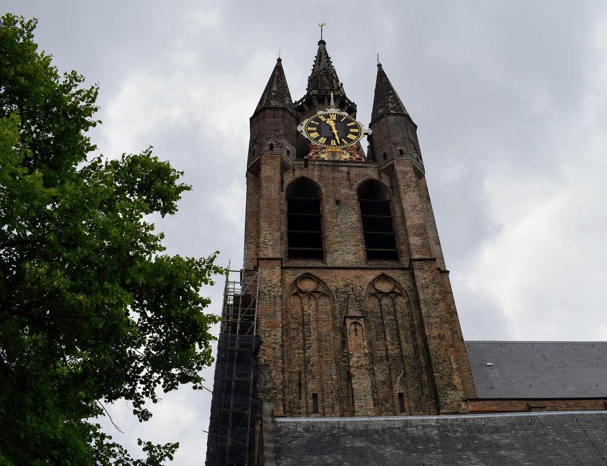 oude kerk delft verbouwing verbouwd