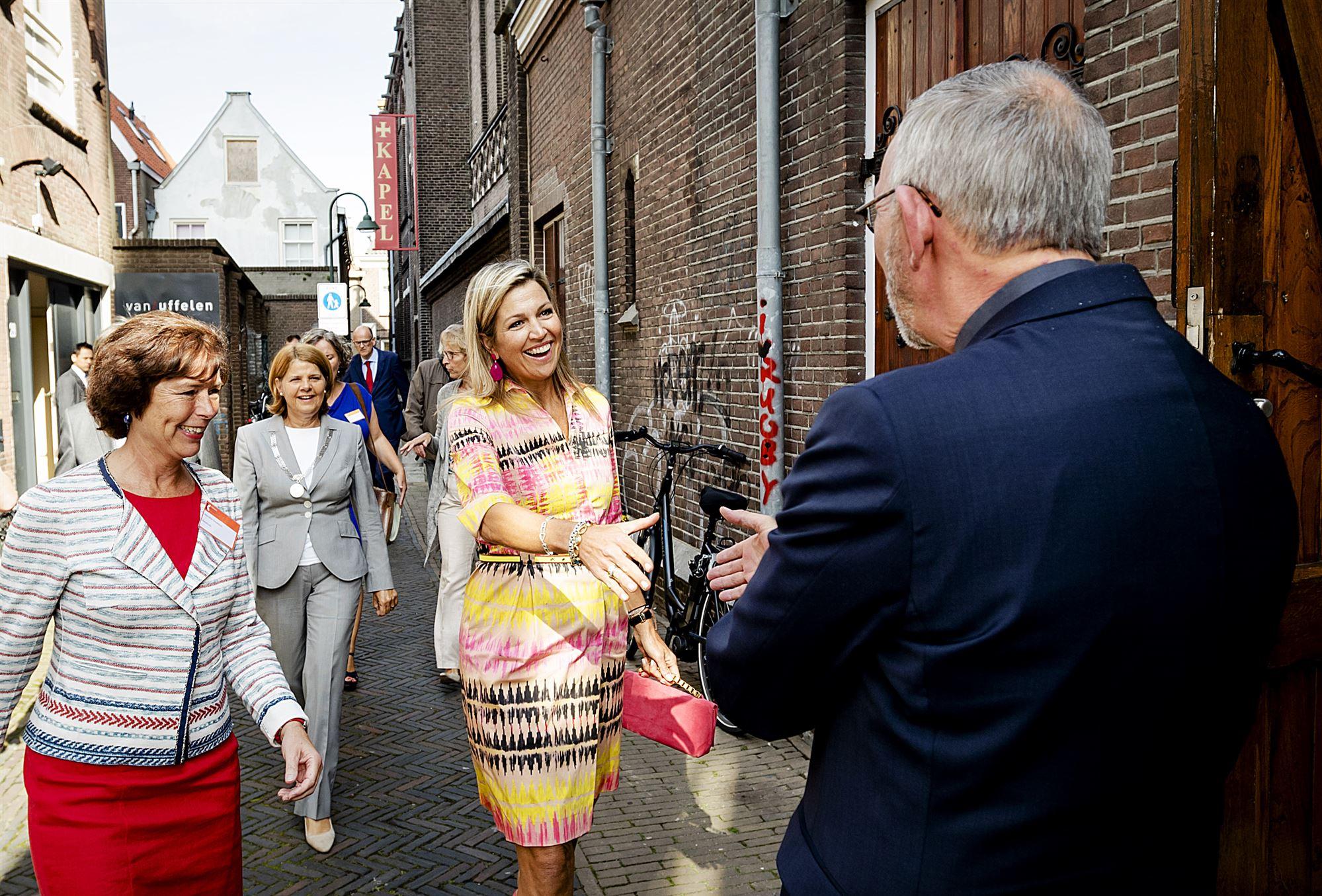 Maxima in Delft