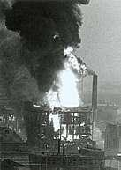 ontploffing lijmfabriek