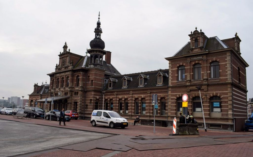 oude station delft