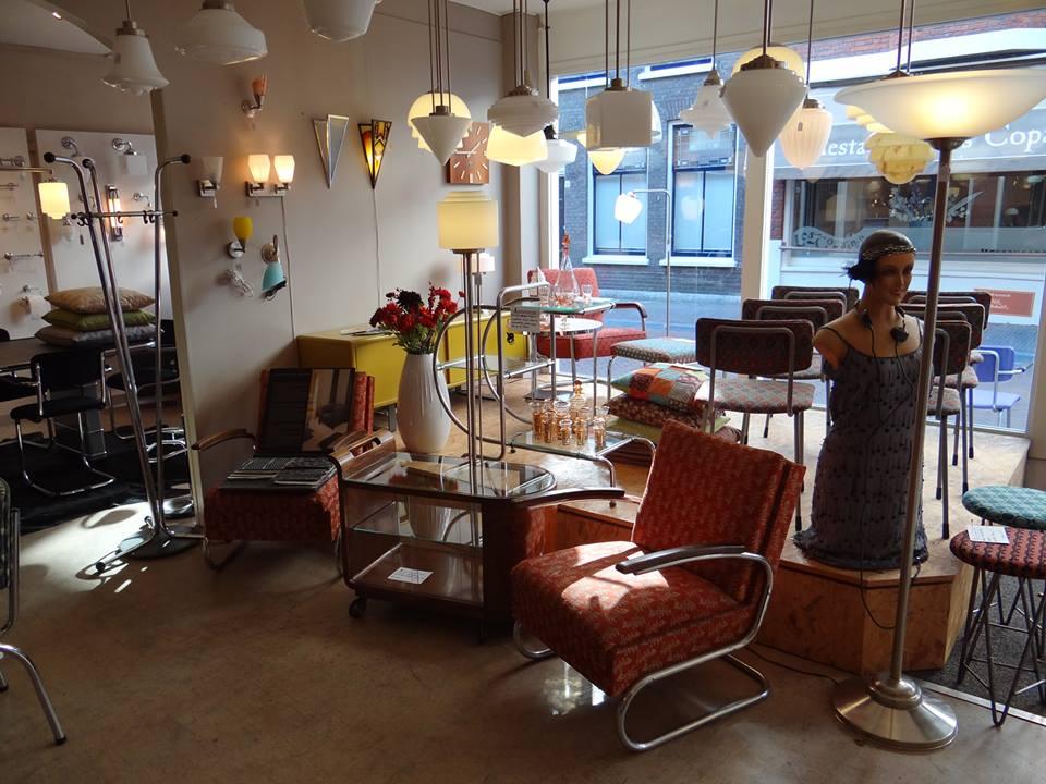 art deco style & light woonwinkel delft