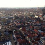 delft luchtfoto markt overzicht