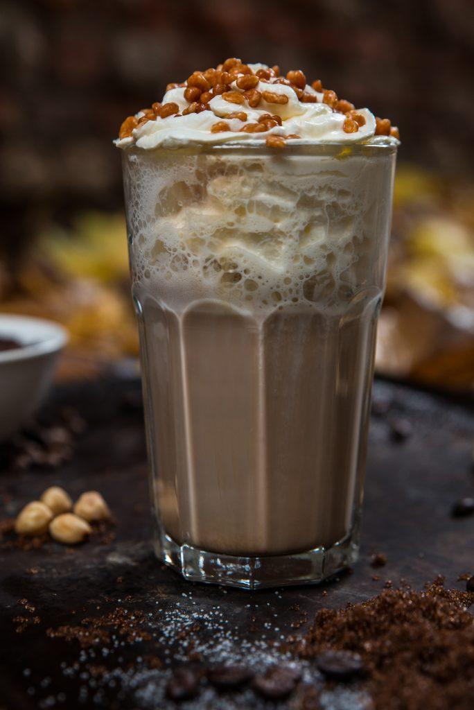 koffie bij best hazelnoot latte