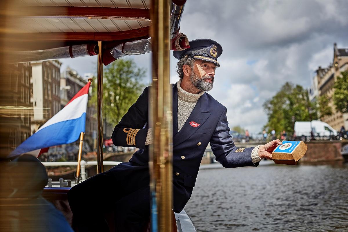 kapitein iglo in actie