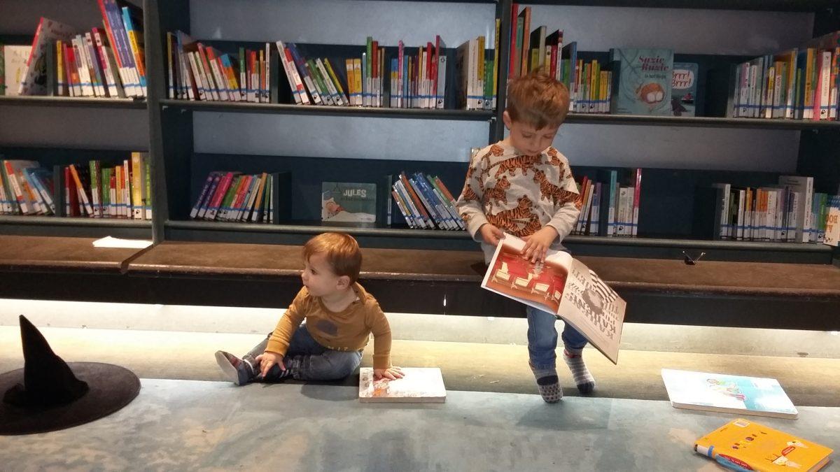 Bibliotheek, Dok, Arthur, Kinderen, Baby, Peuter, Floris