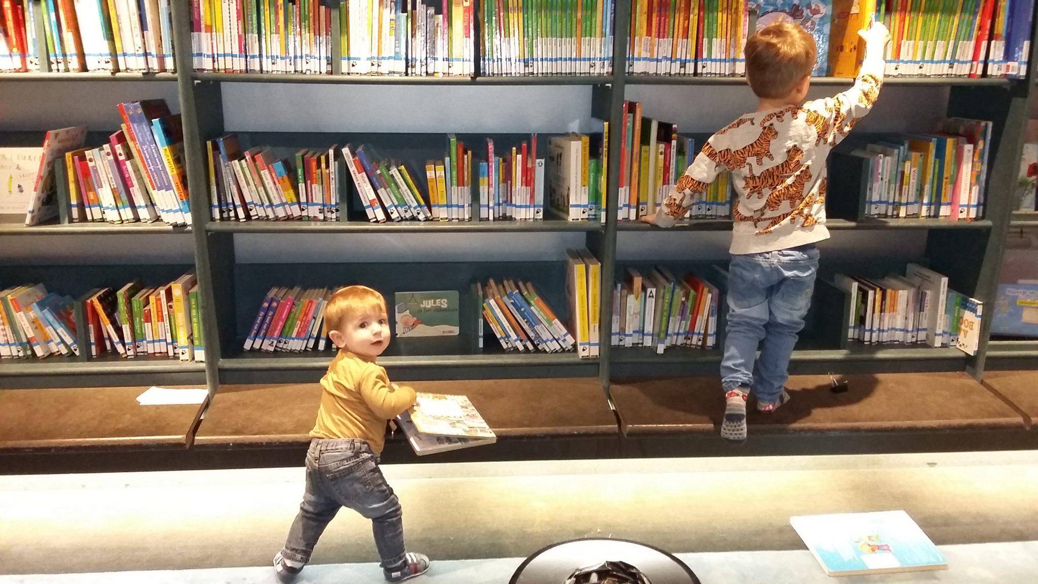 Bibliotheek Dok Peuter Baby Kinderen Floris Arthur