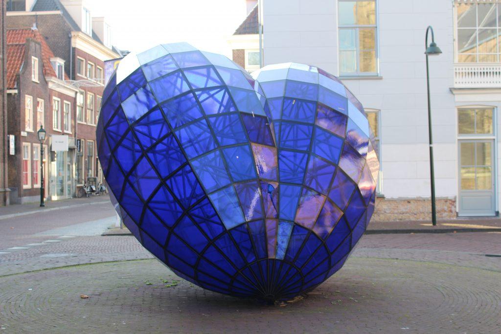 blauwe hart