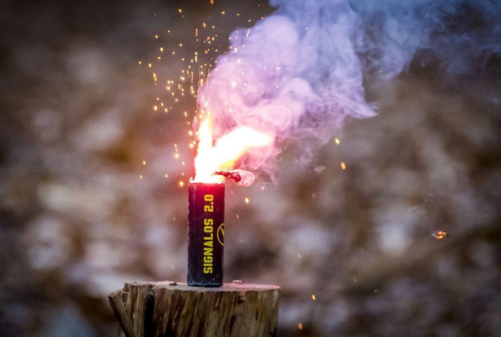 vuurwerk bang huisdier