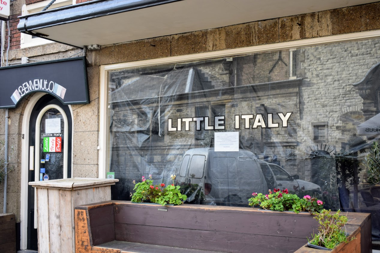 little-italy verbouwing