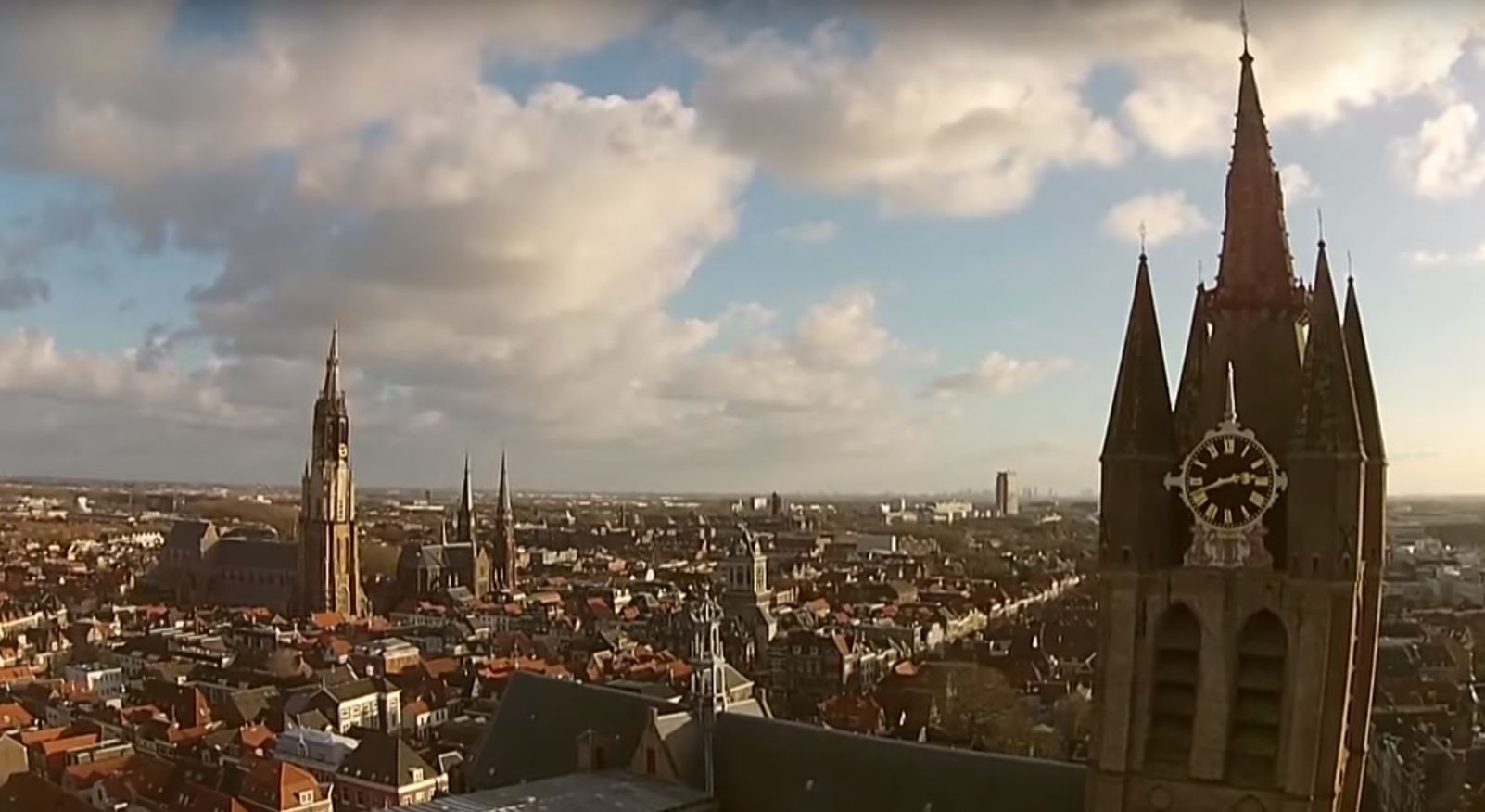 delft by drone