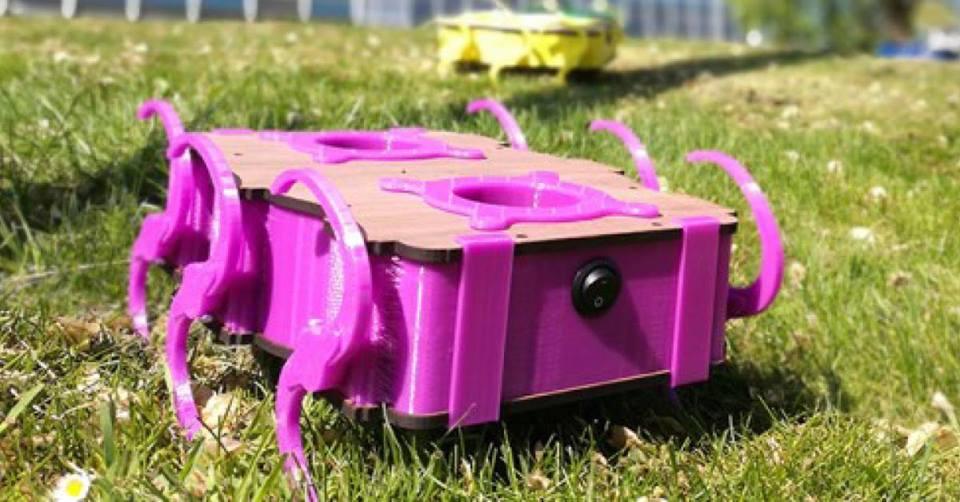 Meet the Robots, De Hoven passage
