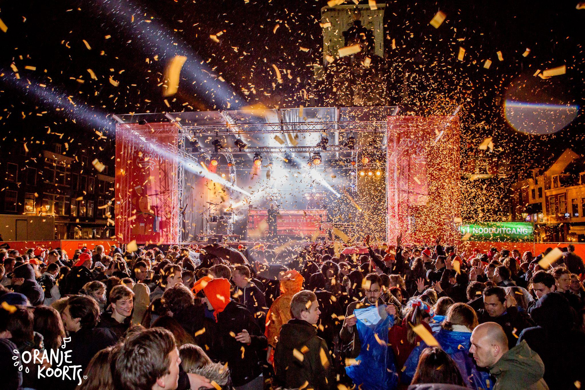 oranjekoorts koningsnacht festival