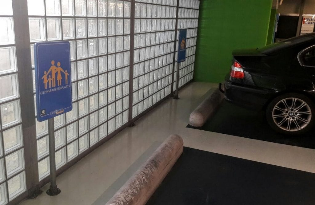 Gezinsparkeerplaats zuidpoort