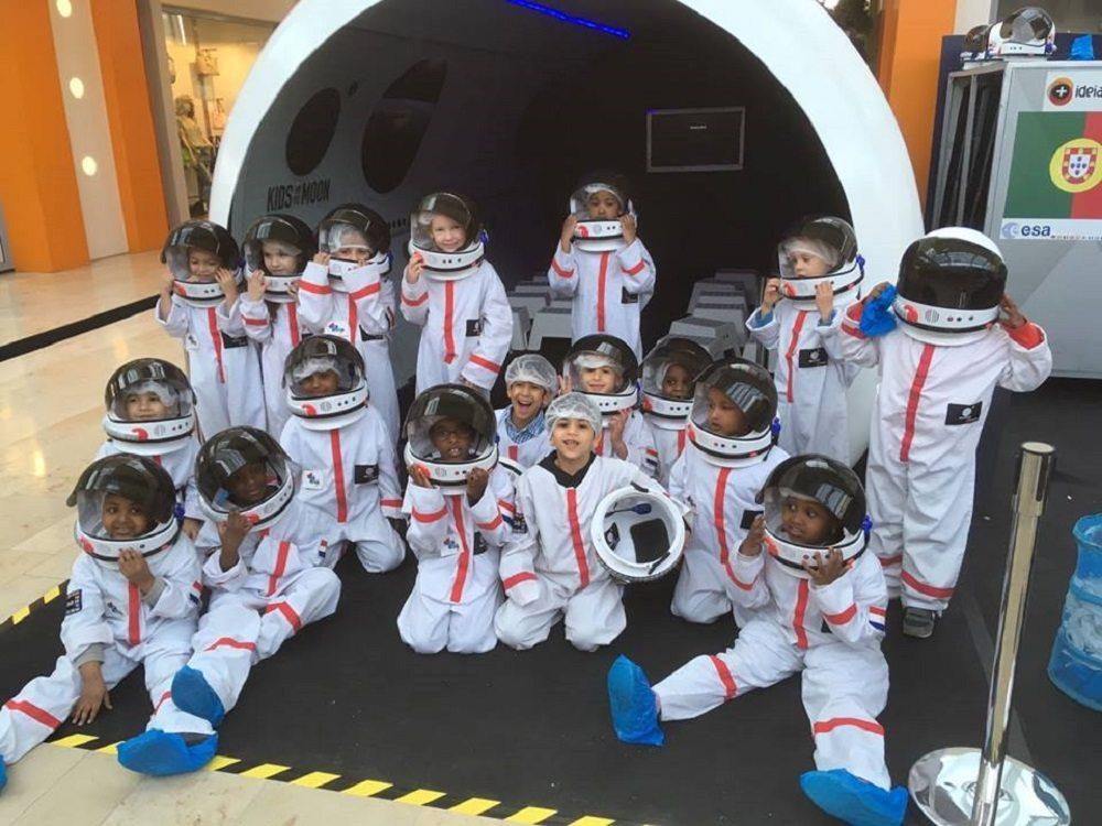 kids on the moon
