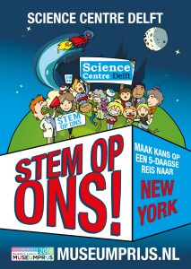 science centre delft poster