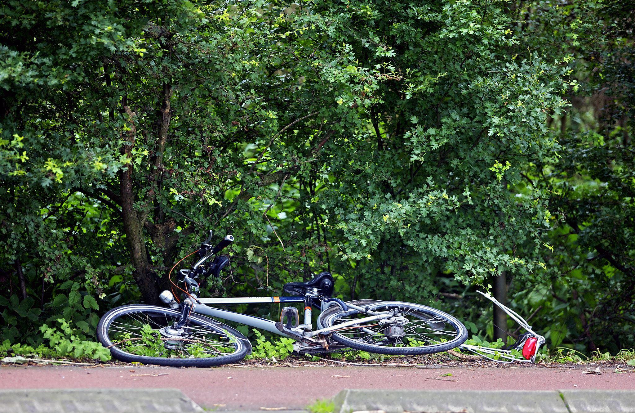 fiets wrak