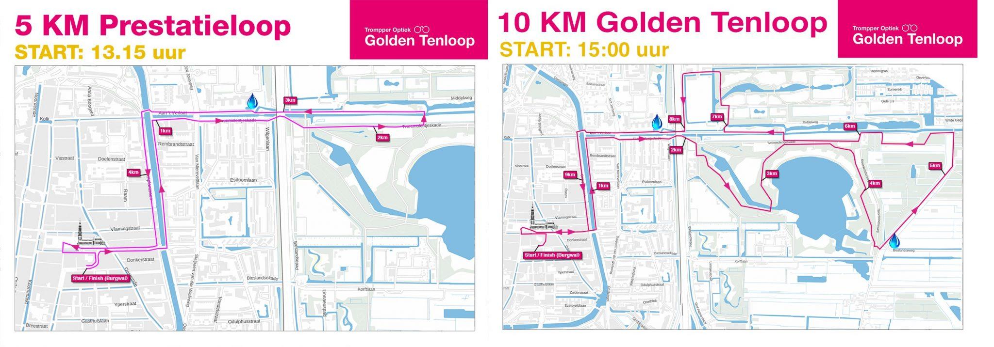 route golden tenloop delft