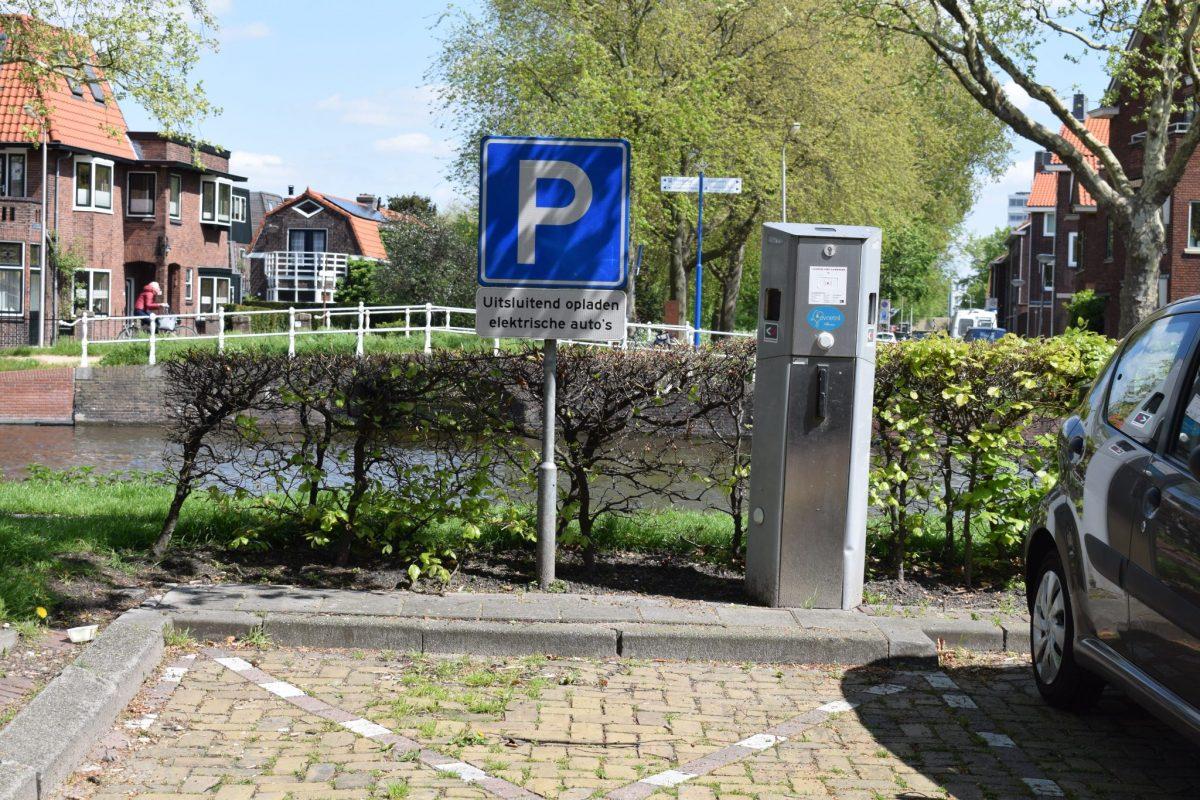 Elektrische parkeerpaal