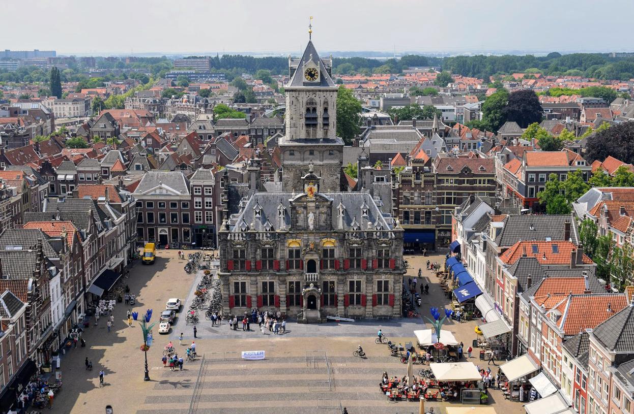 Markt Statdhuis Algemeen Delft 2