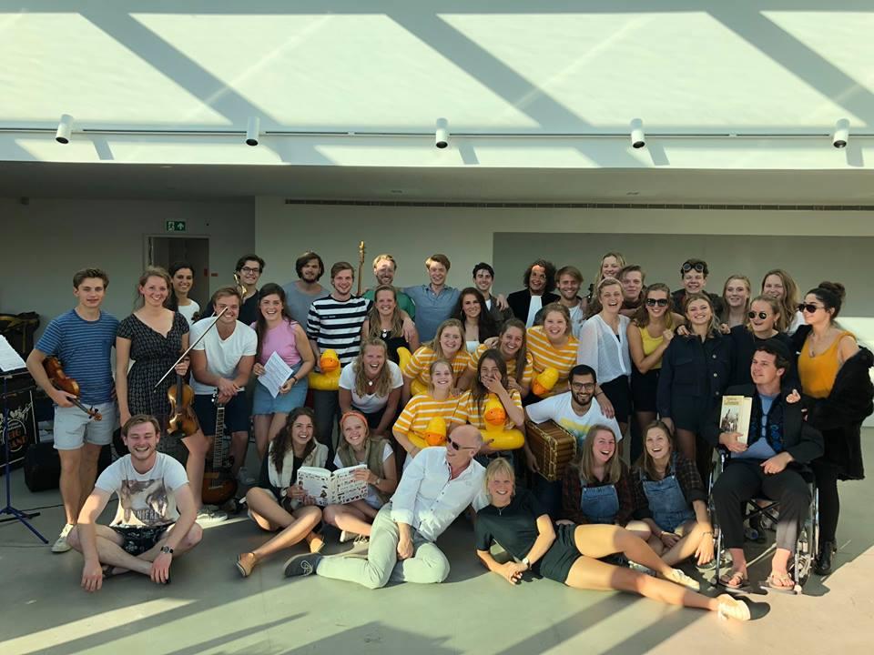 Delfts studenten toneel gezelschap