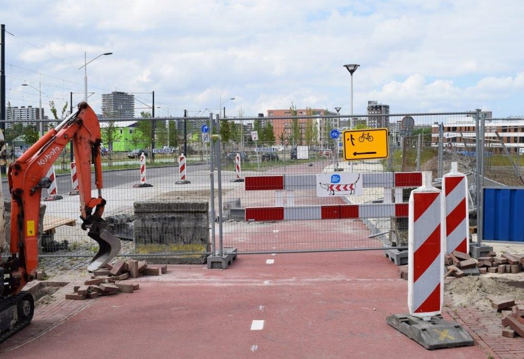 fietspad ireneboulevard