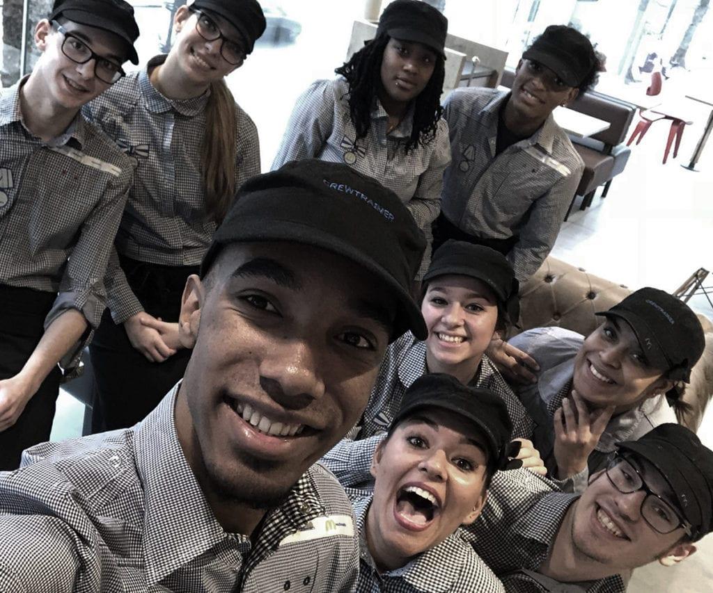 mcdonalds crew