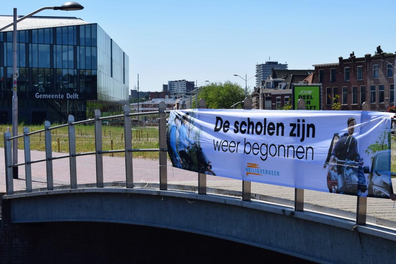 de scholen zijn weer begonnen veilig verkeer Nederland