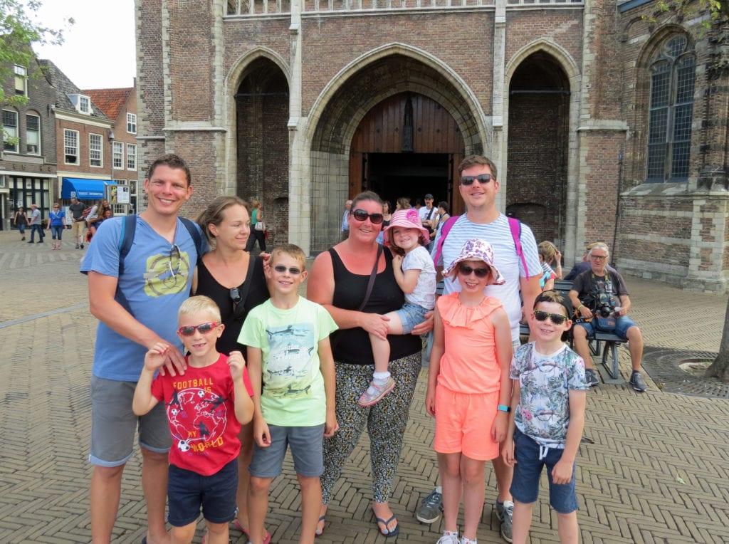 Toeristen Delft