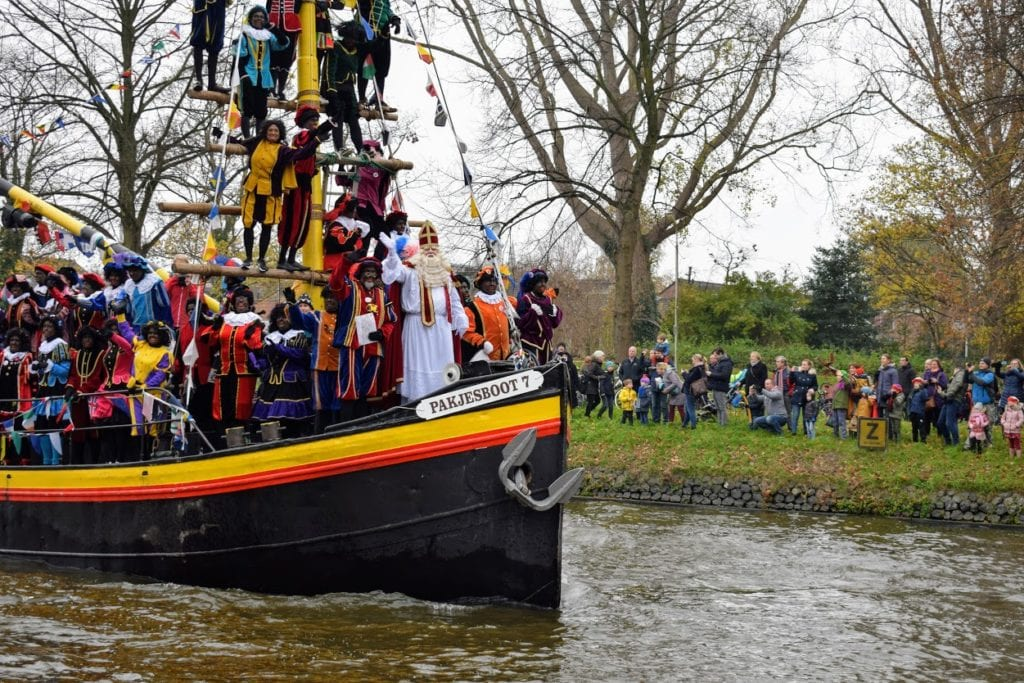 Sinterklaasintocht 2019 in Delft