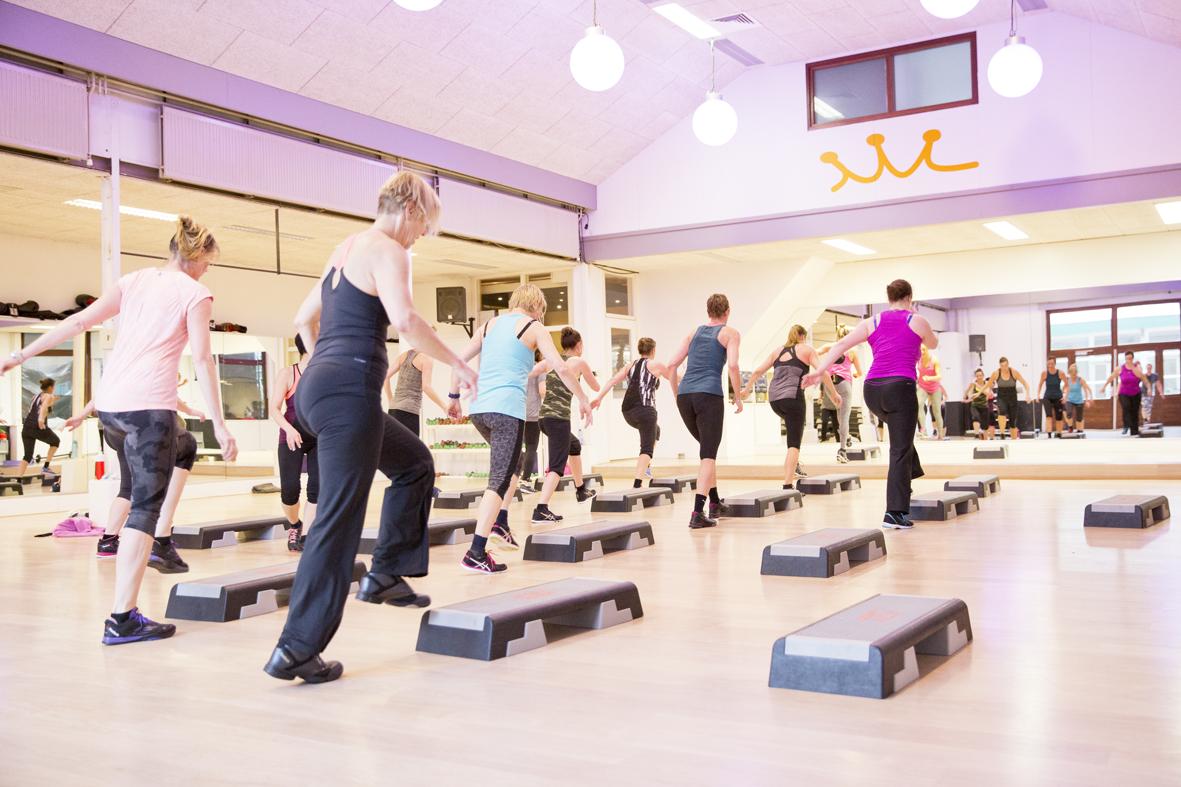 damessportschool queens fitnessen