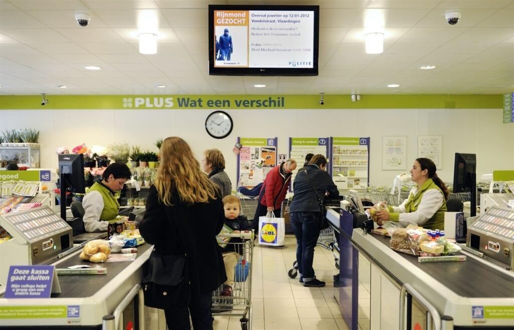 kassa plus supermarkt