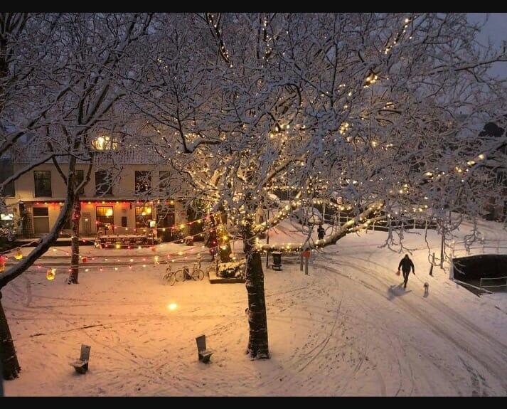 doelenplein winter algemene foto