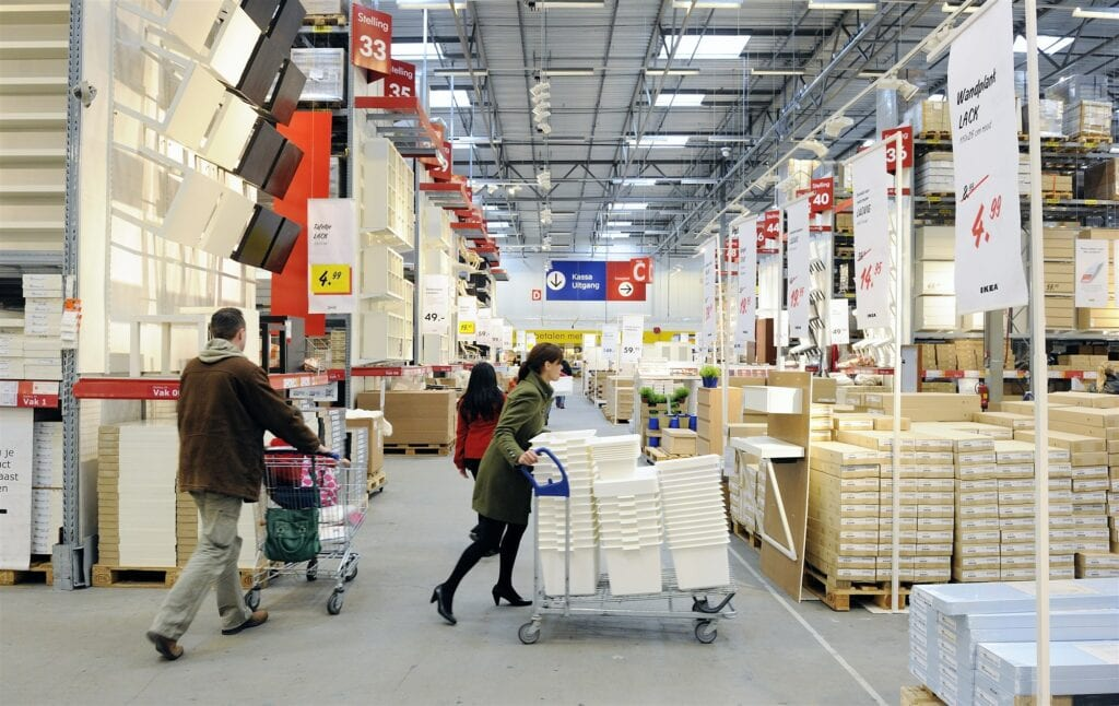 IKEA magazijn vacature